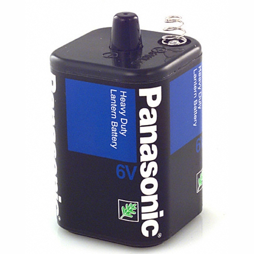 Panasonic Heavy Duty 6V Lantern Battery