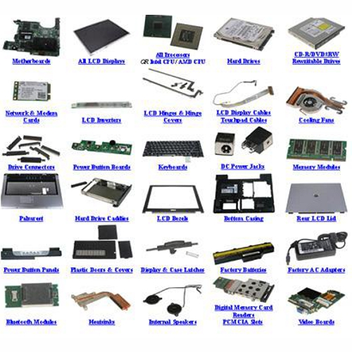 Spare parts for laptops, tablets or, cell-phones