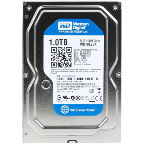 how to install wd blue internal hard drive